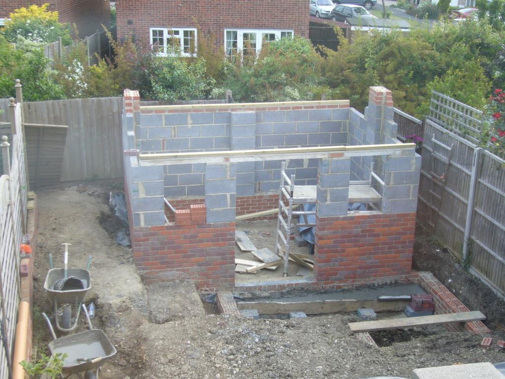 Famous brick built garden rooms photos garden and for Brick garden room designs