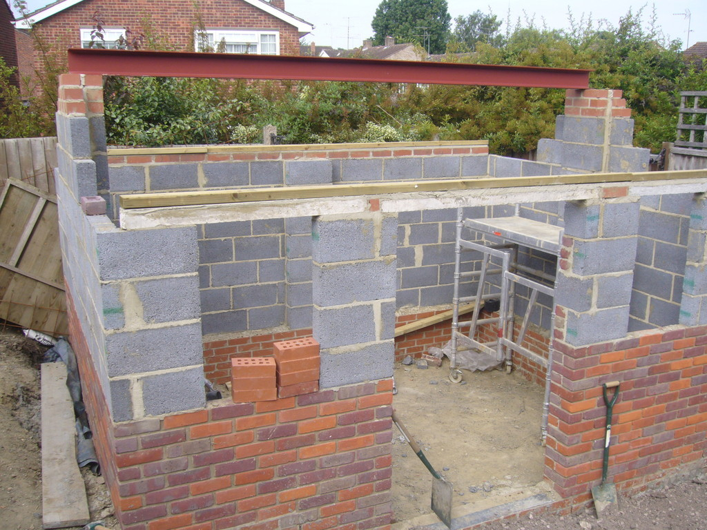 Nice brick built garden rooms images garden and for Brick garden room designs